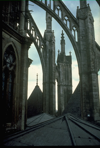 Gothic Flying Buttress For Pinterest